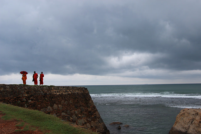 Galle, Sri Lanka: Gorgeous even in the rain!